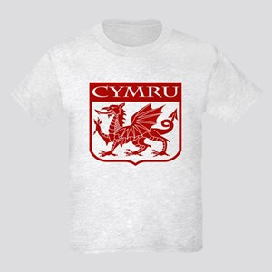 CYMRU Wales Kids Light T-Shirt