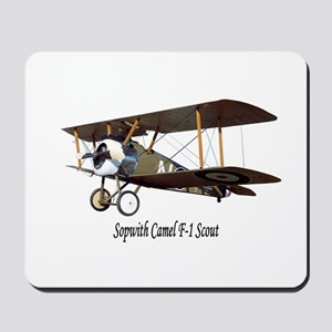 Sopwith Camel Scout Mousepad