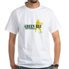Green Bay FootballGreen Bay F White T-Shirt