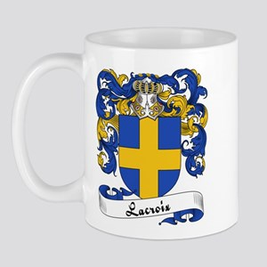 Lacroix Family Crest Mug