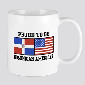 Proud Dominican American Mug