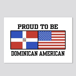 Proud Dominican American Postcards (Package of 8)