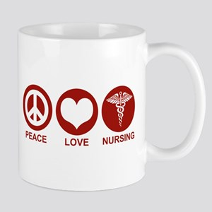Peace Love Nursing Mug