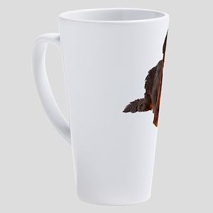 Bernese Mountain Dog 17 oz Latte Mug