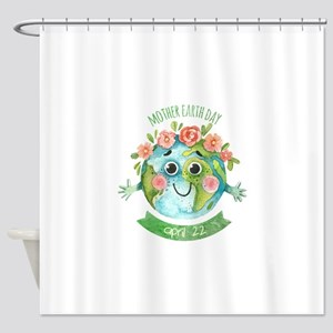 mother earth day Shower Curtain