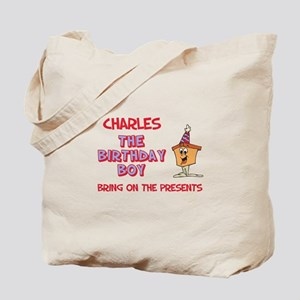 Charles - The Birthday Boy Tote Bag