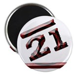 21st Birthday Gifts Magnet