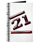 21st Birthday Gifts Journal