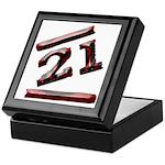 21st Birthday Gifts Keepsake Box