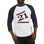 21st Birthday Gifts Baseball Jersey