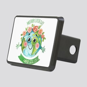 mother earth day Rectangular Hitch Cover