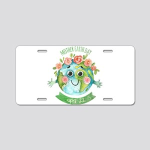 mother earth day Aluminum License Plate