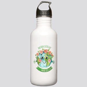 mother earth day Stainless Water Bottle 1.0L