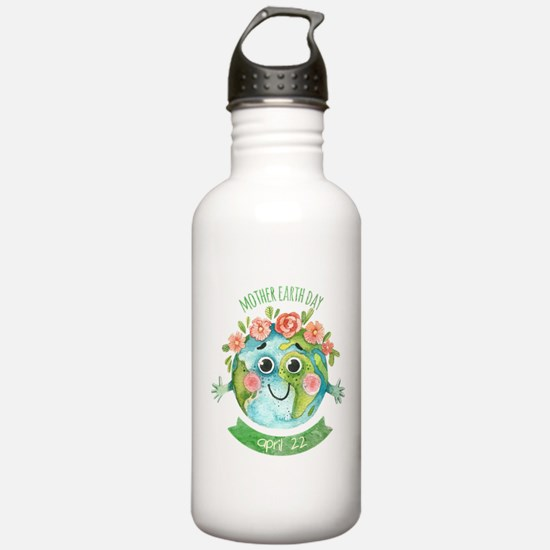 mother earth day Water Bottle