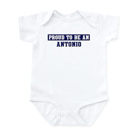 Proud to be Antonio Infant Bodysuit