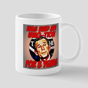 Bush has an Iraq-tion Mug