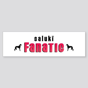Saluki Fanatic Bumper Sticker
