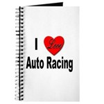 I Love Auto Racing Journal