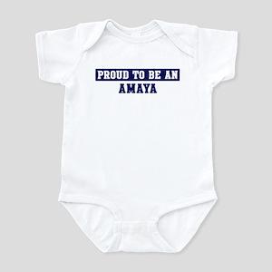 Proud to be Amaya Infant Bodysuit