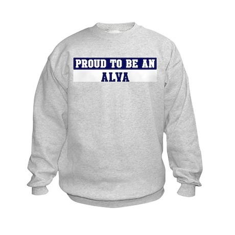 Proud to be Alva Kids Sweatshirt