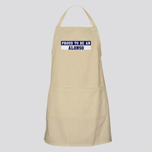 Proud to be Alonso BBQ Apron