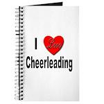 I Love Cheerleading Journal