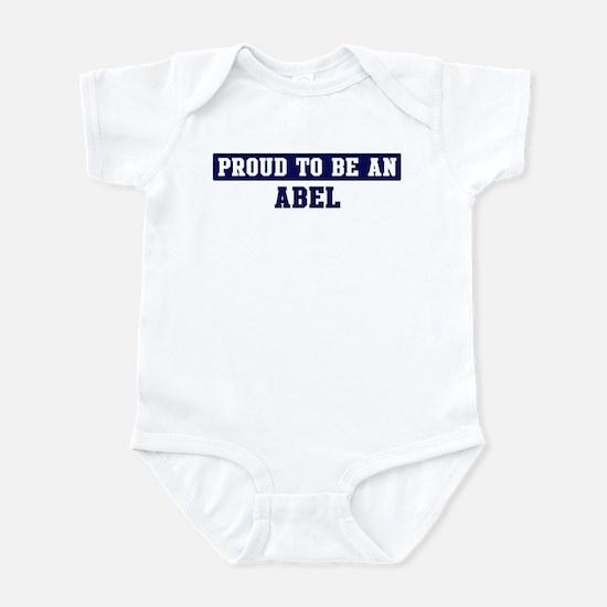 Proud to be Abel Infant Bodysuit