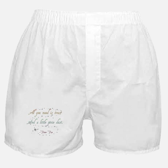 Trust and Pixie Dust Boxer Shorts