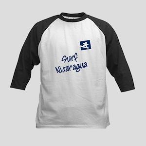 Surf Nicaragua Kids Baseball Jersey