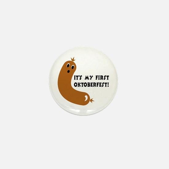 First Oktoberfest Mini Button