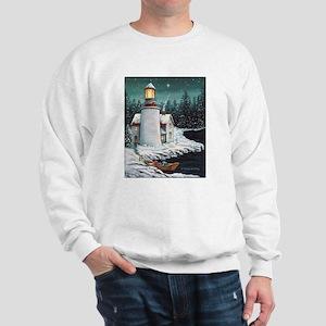 Christmas Lighthouse Sweatshirt
