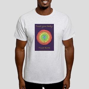 Trust Birth Labyrinth Light T-Shirt