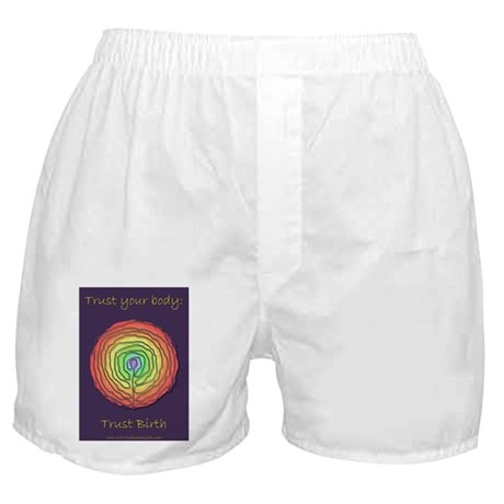 Trust Birth Labyrinth Boxer Shorts