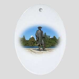 Austin, Texas Oval Ornament