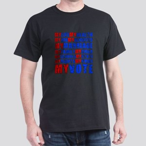 My Life My Vote Dark T-Shirt