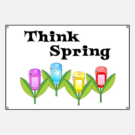 Think Spring GPS Banner