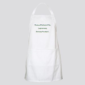Look Back and Laugh BBQ Apron