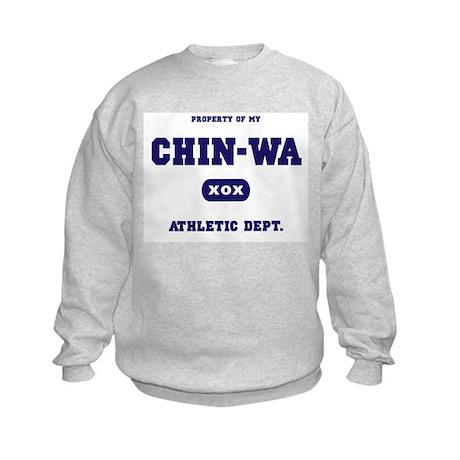 Property of my Chin-Wa Kids Sweatshirt