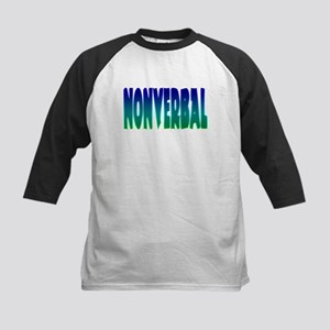 nonverbal Kids Baseball Jersey