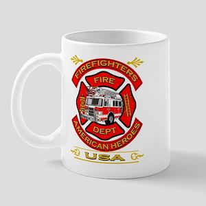 Firefighters~American Heroes Mug