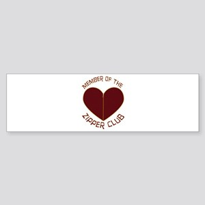 Zipper Club Bumper Sticker (10 pk)