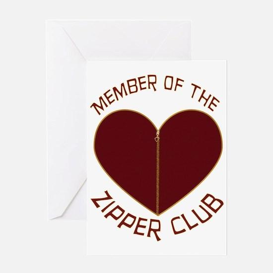 Zipper Club Greeting Card