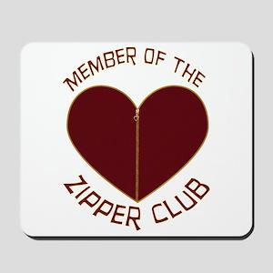 Zipper Club Mousepad