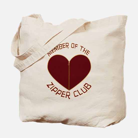 Zipper Club Tote Bag