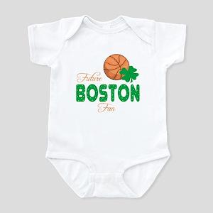 Future Boston Basketball Fan Baby Infant Bodysuit