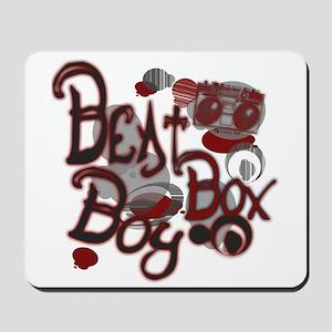 Beat Box Boy R Mousepad