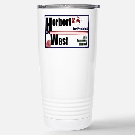 Herbert West reanimator president Stainless Steel
