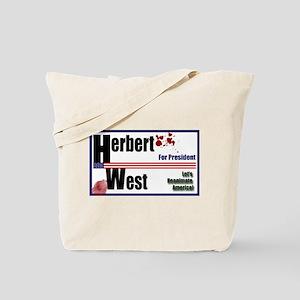 Herbert West reanimator president Tote Bag
