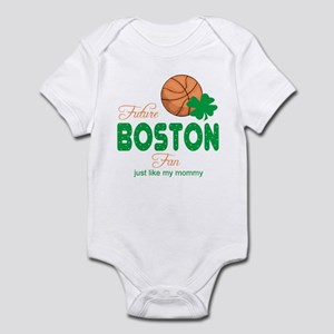 Future Boston Fan like Mommy Baby Infant Bodysuit