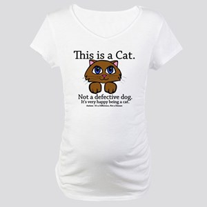 This is a Cat Maternity T-Shirt